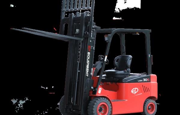 Nowy elektryczny wózek widłowy EP L1 Triplex, bateria litowo-jonowa (LI-ION)