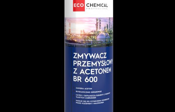 Zmywacz przemysłowy z acetonem BR 600